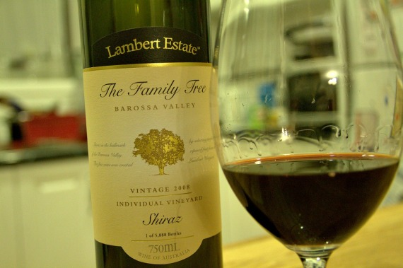 2008 The Family Tree Shiraz, Lambert Estate