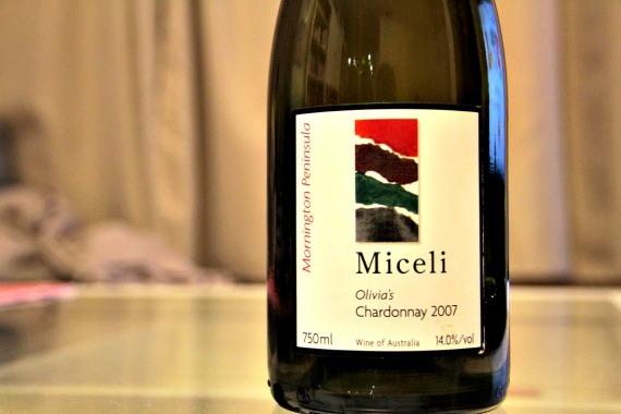 2007 Miceli Olivia's Chardonnay